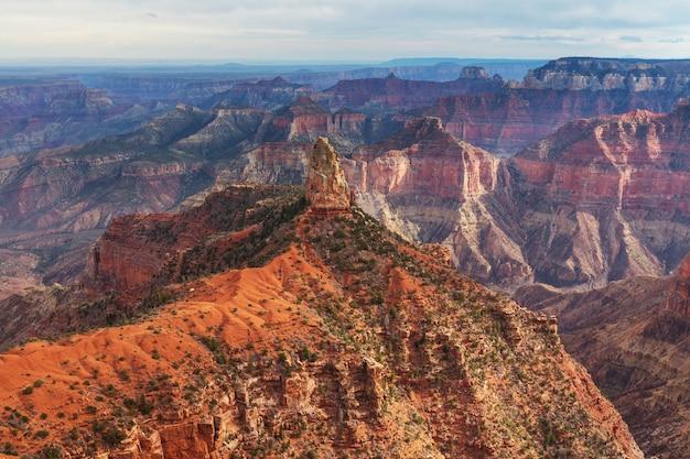 Malerische landschaften des grand canyon