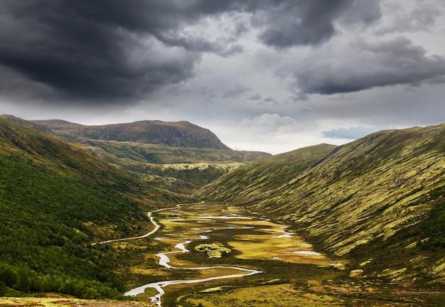 Malerische landschaften norwegens