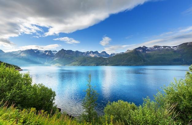 Malerische landschaften von nordnorwegen