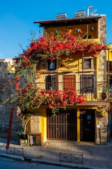 Malerische malerische straßen von chania venezianischer stadt chania creete griechenland