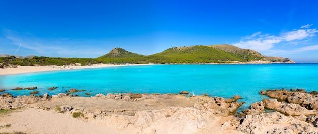 Mallorca cala agulla strand in capdepera mallorca