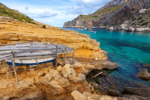 Mallorca cala figuera strand von formentor mallorca