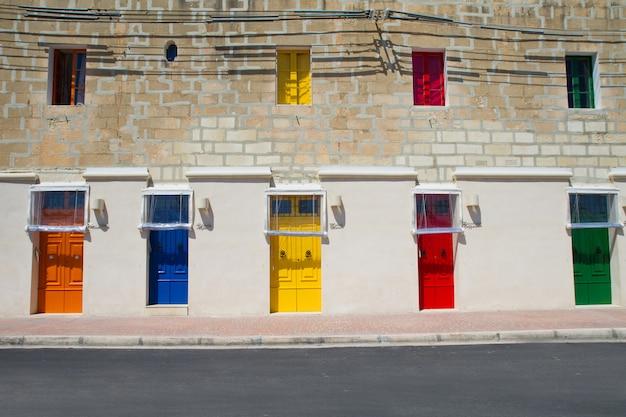 Malta la valletta historischer hafen