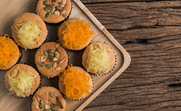 Mamon kuchen oder cupcake