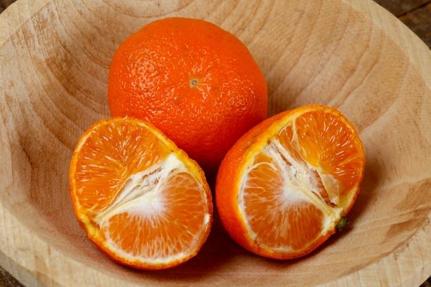 Mandarine oder mexerica auf portugiesisch