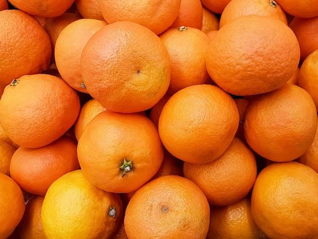 Mandarine vitamin hintergrund. zitrusfrucht.