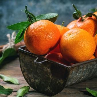 Mandarinen mit zimt