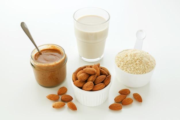 Mandeln und produkte aus mandeln
