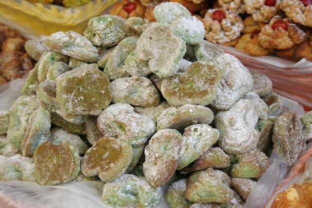 Mandelpasten kekse