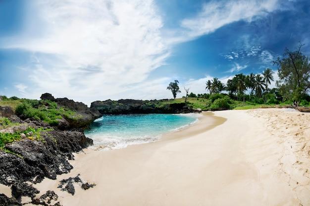 Mandorak strand, sumba, indonesien