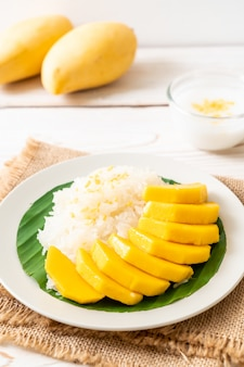 Mango mit klebreis