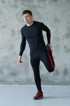 Mann fitness-training