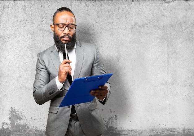 Mann in der klage, eine checkliste bewerten