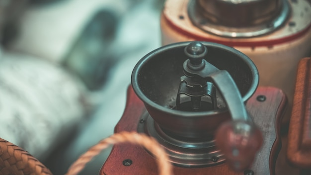 Manuelle drehbare kaffeemühle