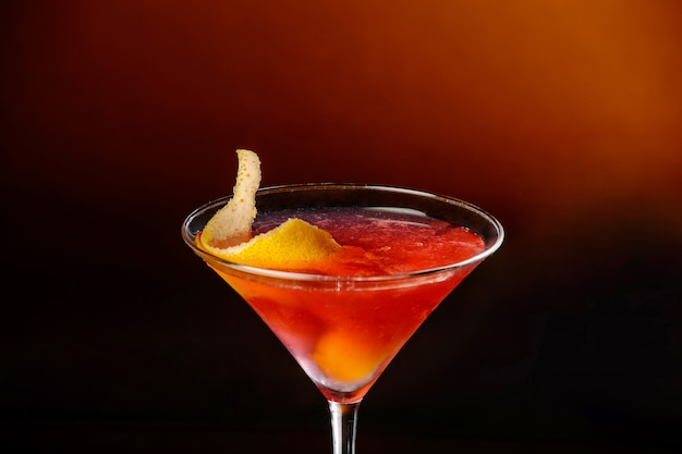 Margarita cocktail. nahansicht