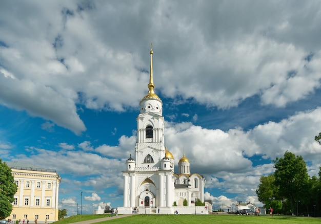 Mariä-entschlafens-kathedrale. wladimir, goldener ring von russland.