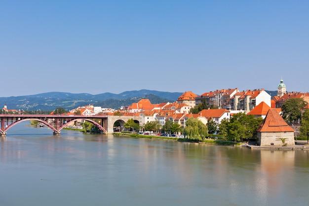 Maribor stadt damm