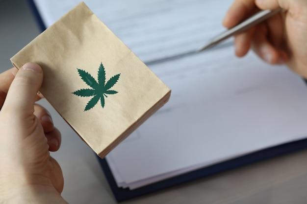 Marihuana-rezept für eine alternative behandlung