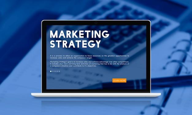 Marketingstrategie-business-analyse-konzept