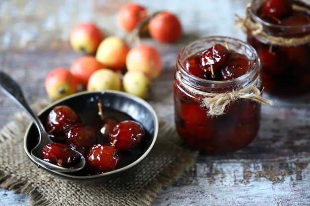 Marmelade aus himmlischen äpfeln machen
