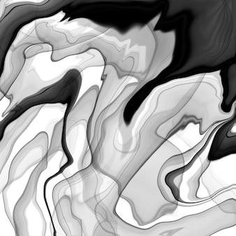 Marmor flüssige tinte textur. fluid art. abstrakter farbhintergrund.