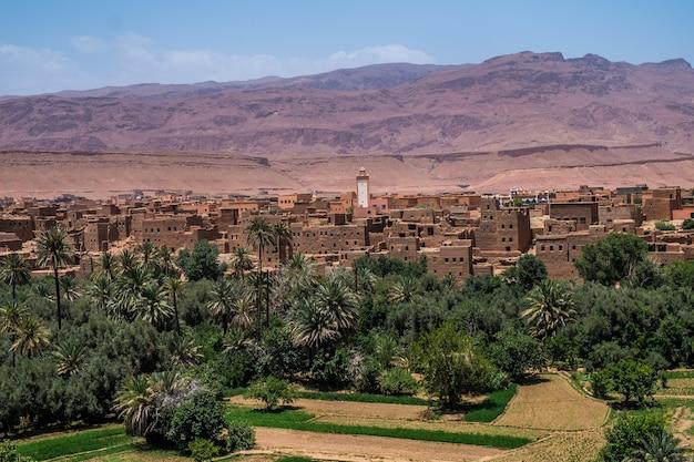 Marokkanische kasbah