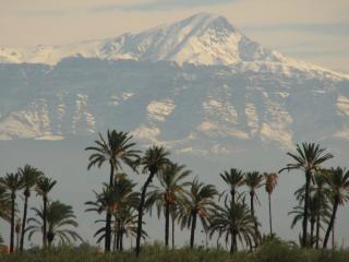Marokkanische landschaft