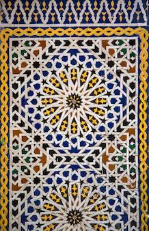 Marokkanischer keramikstil
