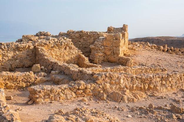 Masada nationalpark, region totes meer, israel