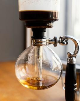 Maschine, die kaffee macht
