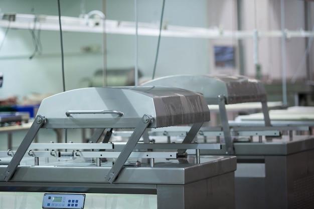 Maschinen in der fleischfabrik