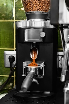 Maschinenbohnen von kaffeebohnen