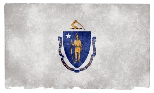 Massachusetts grunge flag