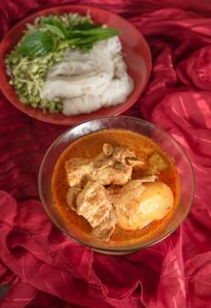 Massaman schweinefleisch curry