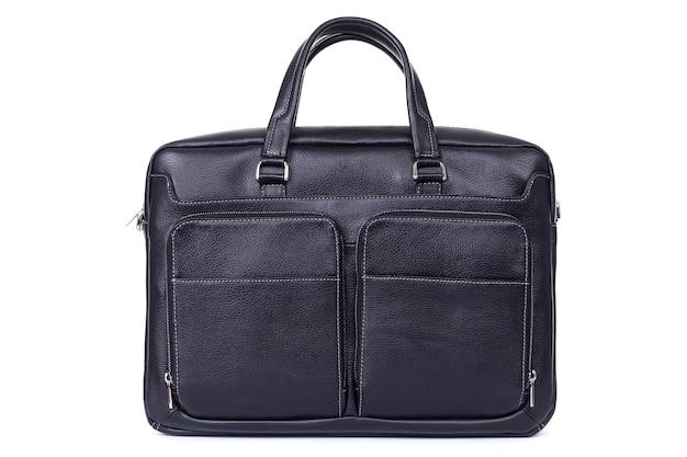 Massive ledertasche für herren