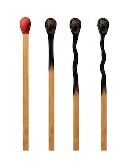 Match brennstufen