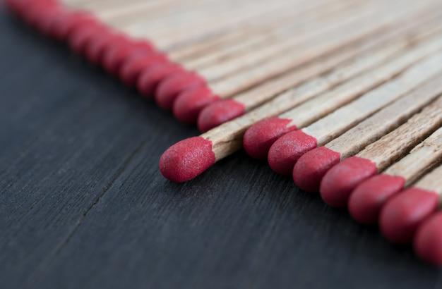 Match, das heraus von matchführungskonzept, individualitätskonzept steht.