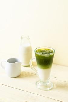 Matcha grüntee latte