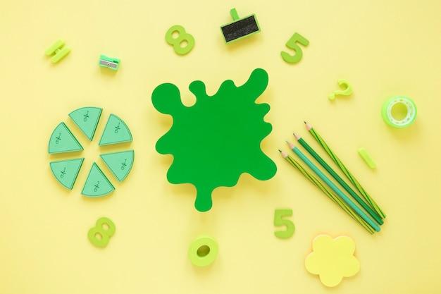 Mathematik mit zahlen und abstrakten formen