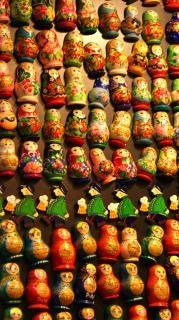 Matroschka-puppen spielzeug