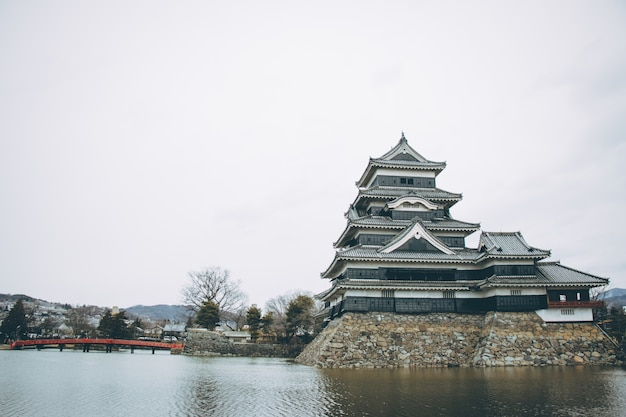Matsumoto schloss in japan