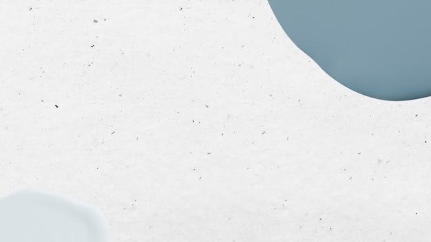 Mattblaue farbe auf weiß