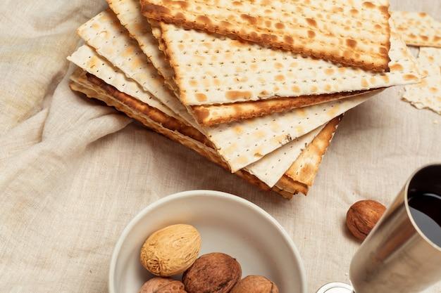 Matzo, matzoth für das jüdische passah