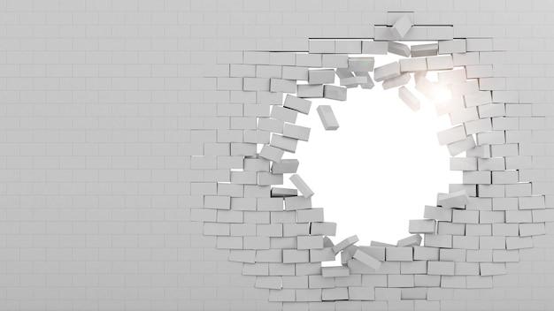 Mauer durchbrochen