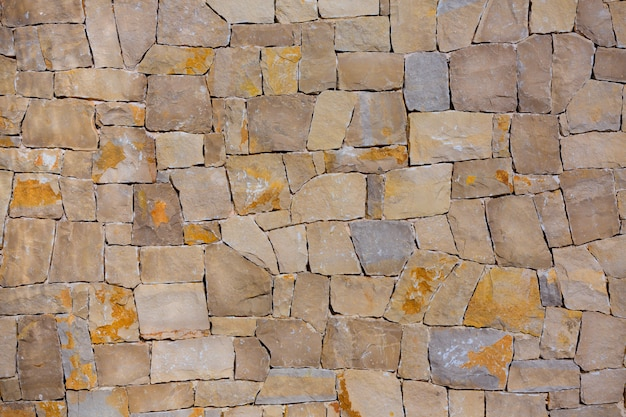 Maurerarbeitwand textre der traditionellen art der handgemachten steine