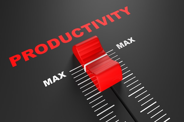 Max productivity value mixer slider extreme nahaufnahme
