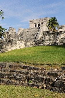 Maya-ruinen von tulum mexiko