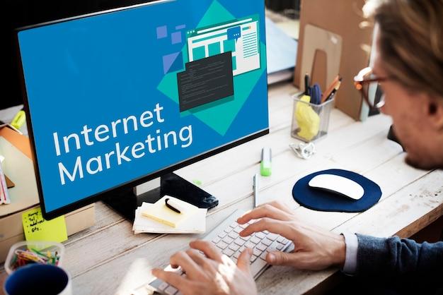 Medienmarketing internet digital global