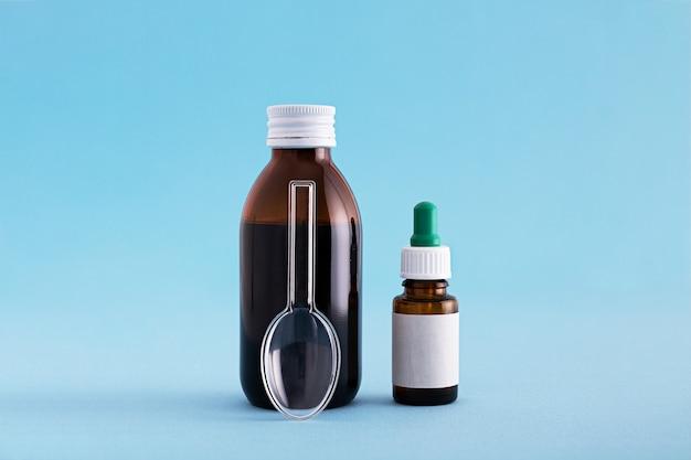 Medikamenten- und impfstoffflaschen