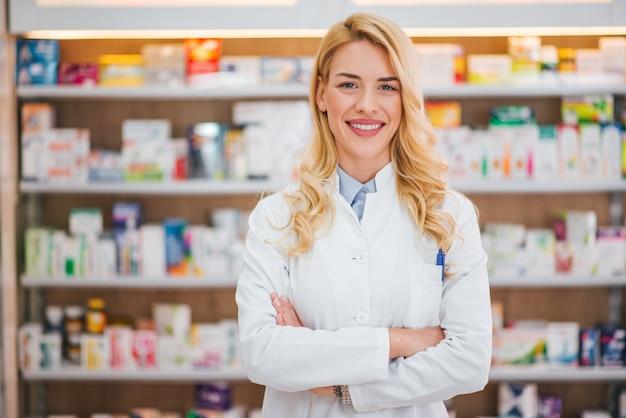 Medizin-, pharma-, gesundheitswesen- und leutekonzept.